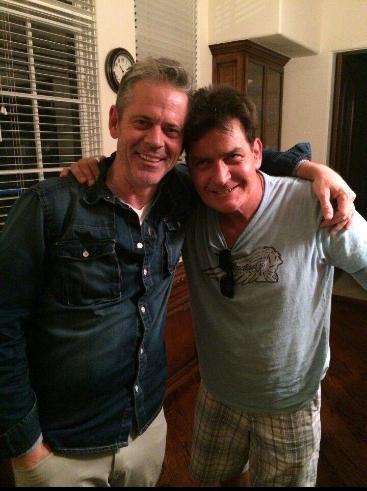 Thomas and Charles Sheen