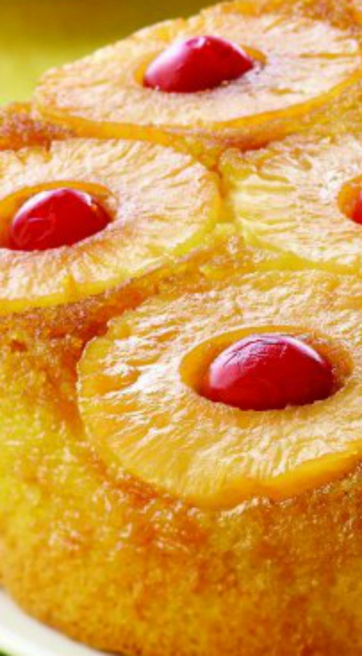 Easy Pineapple Upside Down Cake ~  It will wow your family!