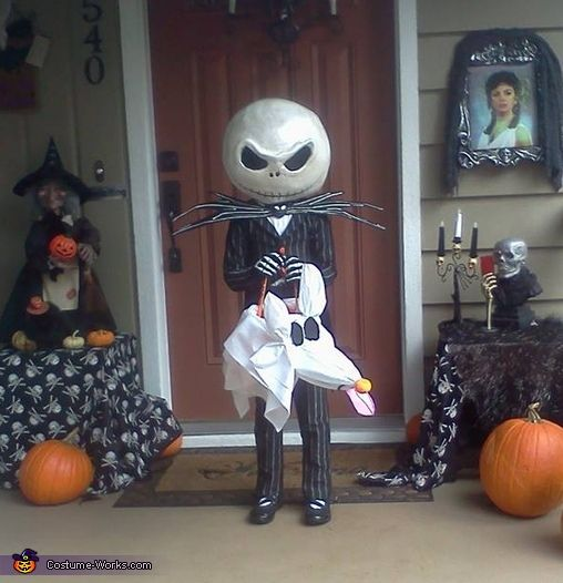jack skellington jack the pumpkin king costume - Halloween Jack Costume
