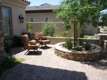 Front yard courtyard design ideas pictures remodel and for Front yard courtyard