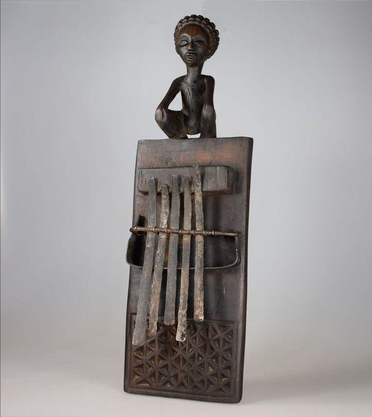 Chokwe Lamellophone / Sanza / Kalimba - D.R Congo