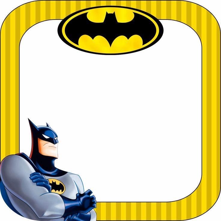 Etiquetas escolares para imprimir Batman