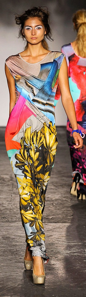 Basso and Brooke Summer 2012 http://nymag.com/fashion/fashionshows/2012/spring/main/europe/womenrunway/bassobrooke/#slide12