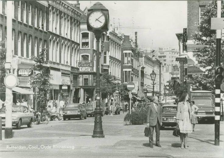 Rotterdam - Oude Binnenweg , 1978