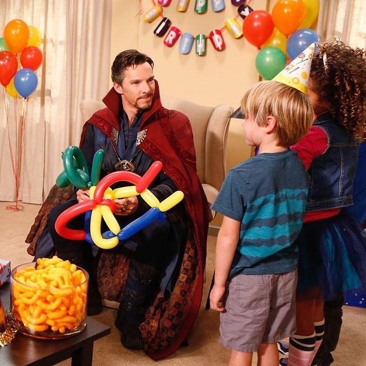 Benedict Cumberbatch as Stephen Strange. Not a huge fan of Jimmy Kimmel but this sketch was hilarious!