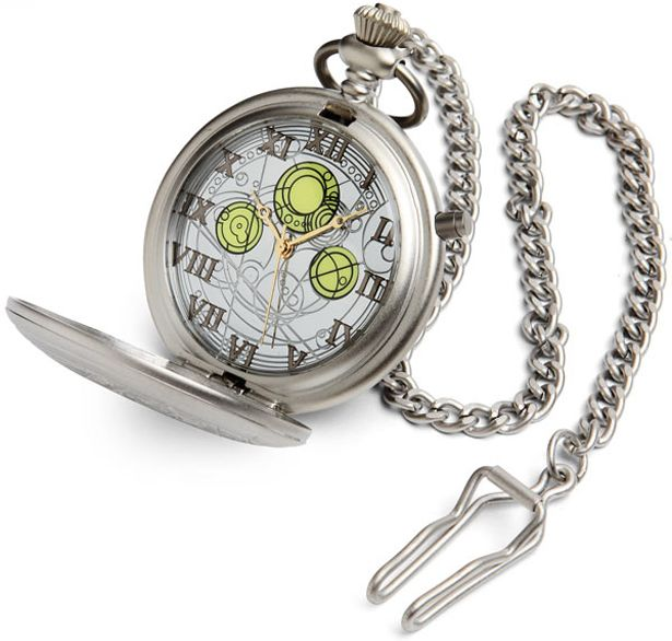 "Reloj de bolsillo del ""Amo"" de Doctor Who @ThinkGeek #lotraigoconFlybox"