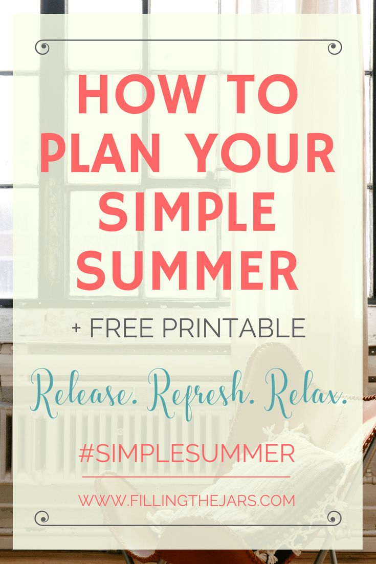Learn how using the Eisenhower Matrix will help you decide what's truly important as you plan your best Simple Summer. {Plus, get a free printable!}   www.fillingthejars.com