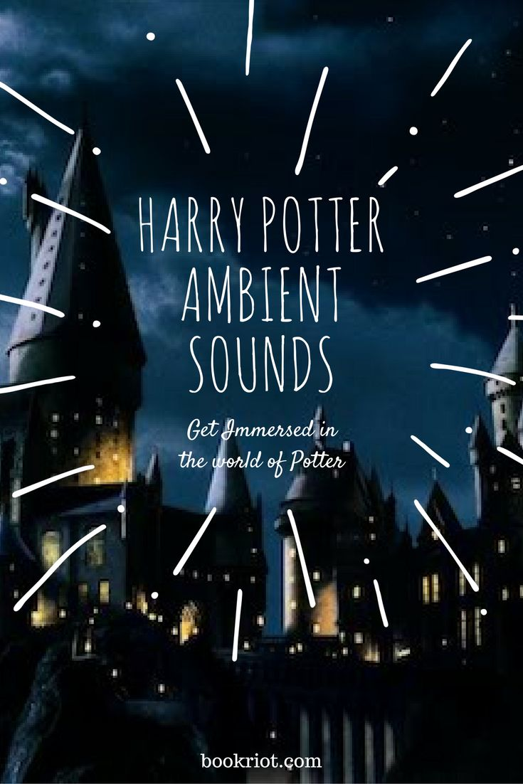 Awesome Harry Potter ambient sounds to fully immerse yourself into the magical world of Potter.