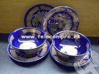 Juego de cuatro platos y dos cuencos de cerámica china: Dos Cuencos, Cuatro Platos, Cuencos De, Cuencos Chinos, Chinese Ceramics, Cerámica China, Ceramic, De Cuatro, Chine Ceramics