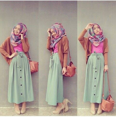 Muslimah fashion &hijab inspiration