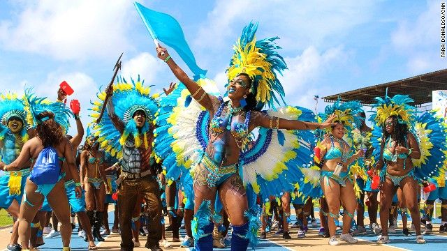 The colourful splendour of Crop Over festival & carnival in #Barbados.