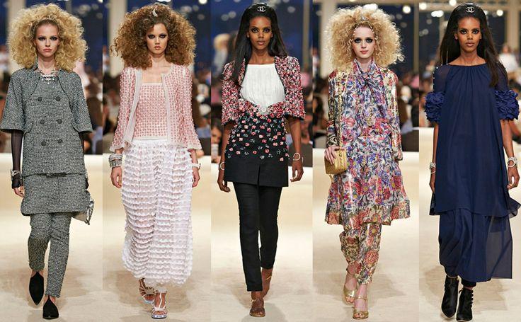 Высокая мода Chanel #burdastyle #burda #мода #fashion