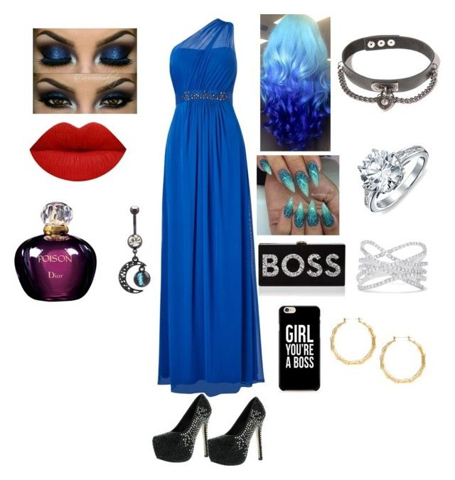 """Ballroom Dancing"" by raven-ranger ❤ liked on Polyvore featuring Adrianna Papell, Bling Jewelry, Milly, Effy Jewelry and Christian Dior"