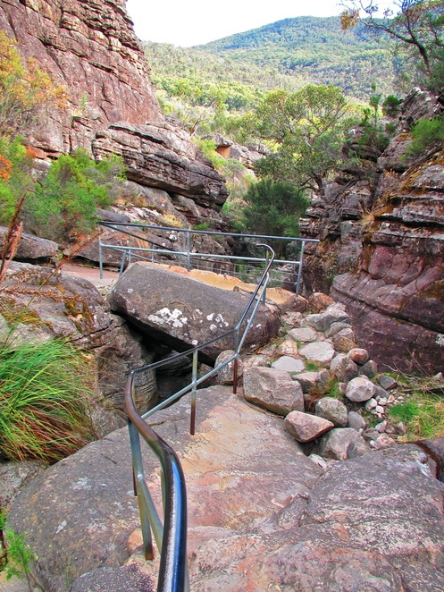 The Grampians in western Victoria - camping, bushwalks, climbing, views.