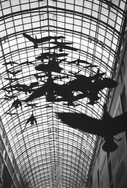 THIS IS THE TORONTO EATON CENTRE!!