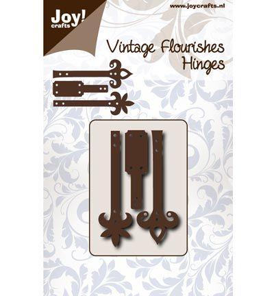 Joy Cutting Vintage Flourishes Hinges / Scharnieren