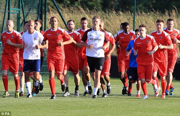Salford City's first team are made up of players from the local community
