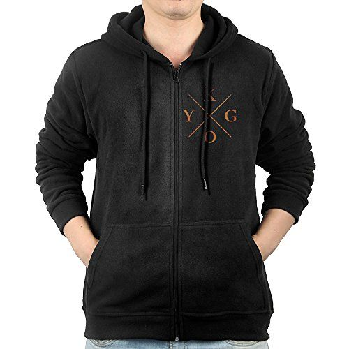 Mens Kygo Logo Stay Stole The Show Firestone ZipUp Hoodie Sweatshirt *** Visit the image link more details.