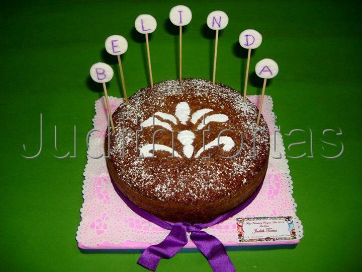 Carrot cake / flower