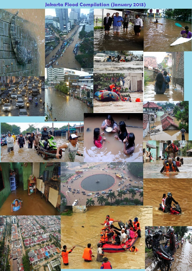 Jakarta Flood Compilation (January 2013)