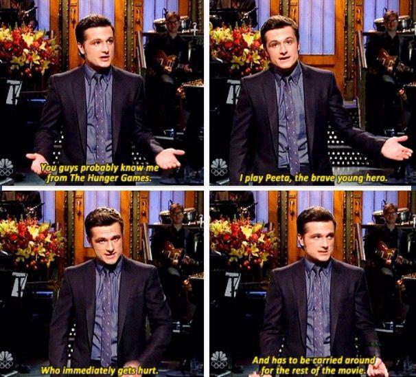 Josh telling it as it is.
