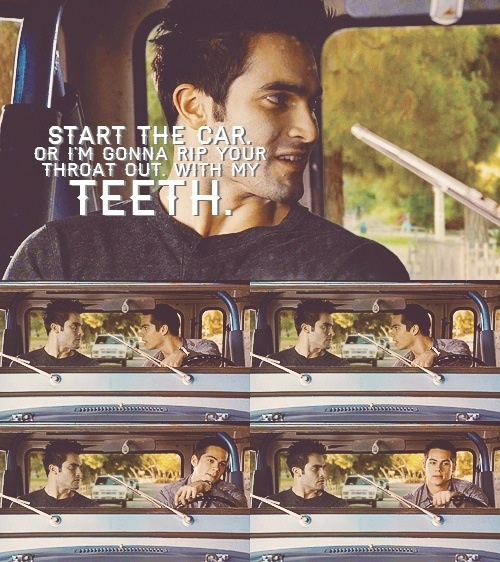 Stiles, Derek, and peter are the sole reason I watch this show.
