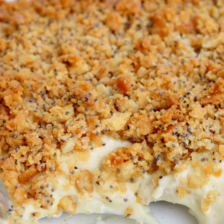 """Ritz Cracker Chicken Casserole - reminds me of Ben's mom's chicken casserole that I dubbed """"chicken stuff""""....but I think she used Stove Top instead of Ritz.  It was SO yummy!!!  I used to request """"chicken stuff"""" all of the time."""