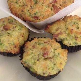 Recipe Zucchini & Bacon Muffins by LynsPlace - Recipe of category Baking - savoury
