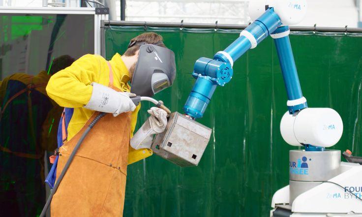 Kollaboration: Europäische Forscher entwickeln kollaborative Industrieroboter