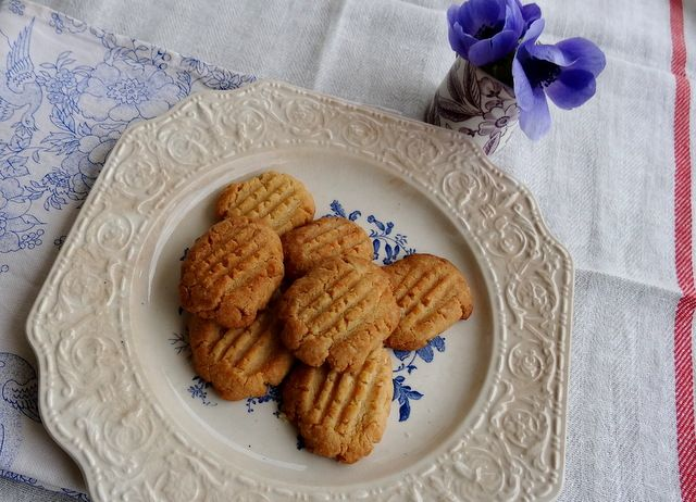 Biscuits aux zestes de citron