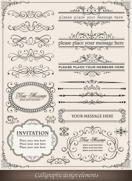 European-style lace border 03-- vector material   Download free Vector