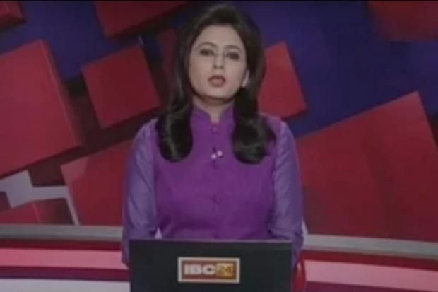 An Indian news presenter first learnt about her own husband's death while reporting it on live TV. Supreet Kaur, a presenter with IBC24 in Chhattisgarh, was reading out breaking news bulletins about a fatal crash.