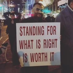 24 Signs From Trump Protests That Will Make You Feel A Little Better
