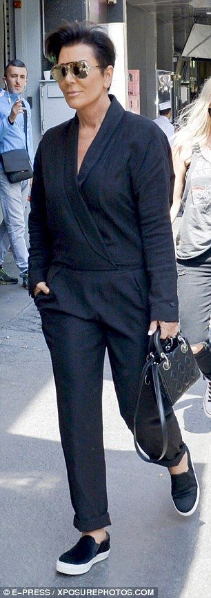 Kris Jenner shops in Paris with her toyboy boyfriend Corey Gamble