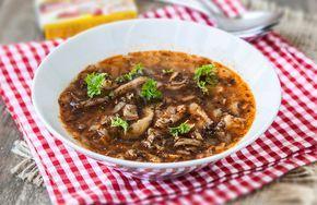 Polévka z hlívy ústřičné | MAGGI. Inspirace pro vaše každodenní vaření.