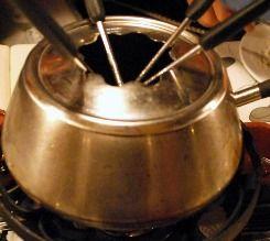 Chinese Fondue | Alcoholic Fondue Recipe This was delicious. Korean cut beef 1/8 inch cut