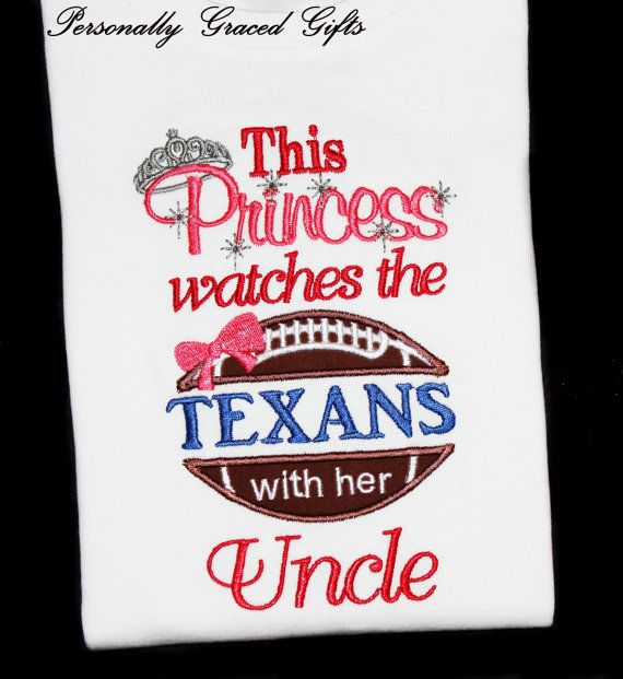 This Princess Watches the Houston Texans With by PersonallyGraced