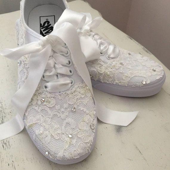 Vans Wedding Shoe Tennis Shoes Trainers