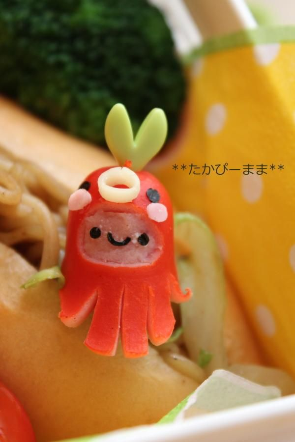 Sausage Octopus Baby for bento | by takapmama
