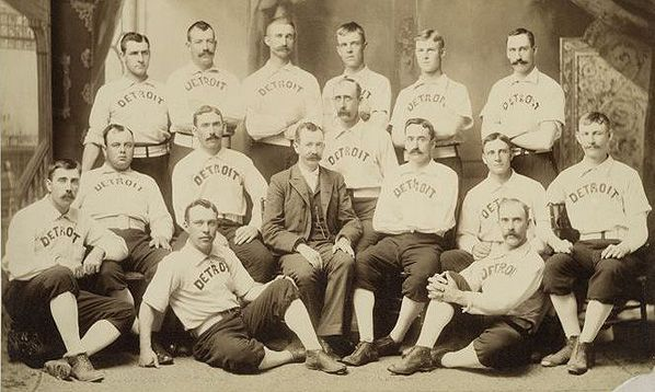 Detroit Wolverines National League Baseball team, 1881 to ...