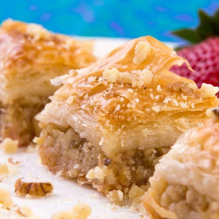 An Easy recipe for sweet and yummy baklava.. Easy Baklava Recipe from ...