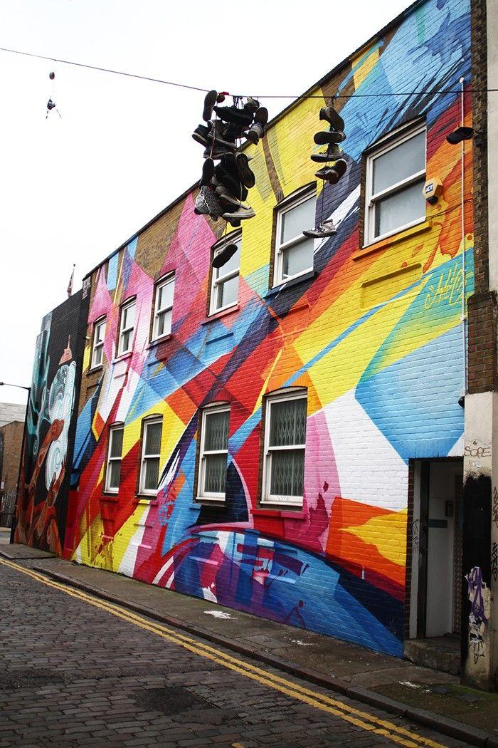 Shoreditch Graffiti: Street Art, Public Art, Street Art
