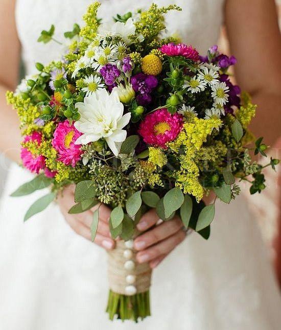 7aa20893fb Lúčna svadobná kytica