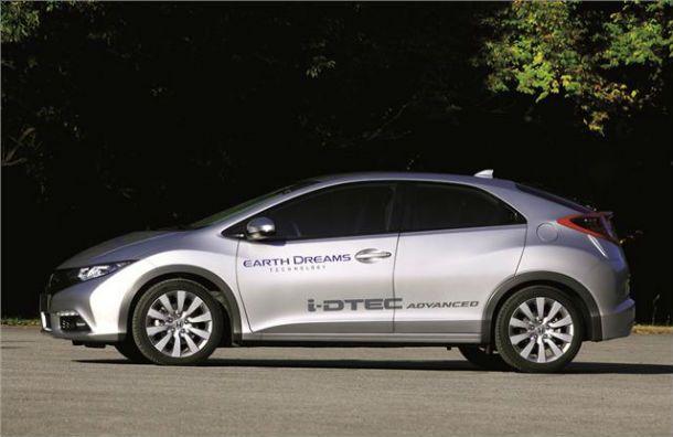 65-MPG Honda Civic Diesel Slated For UK