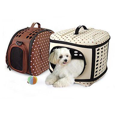 Bolso de viaje para perro divino y estiloso