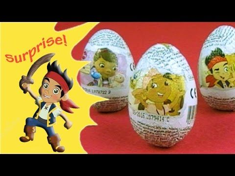 Jake and the Neverland Pirates surprise eggs with Doc McStuffins Surpris...