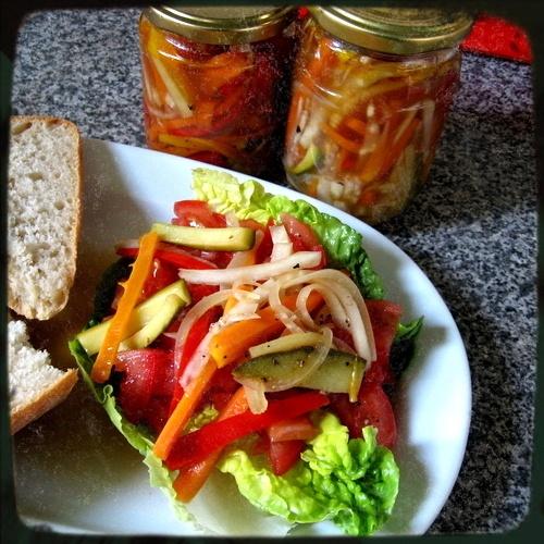 Puszta Salad! Full of puszta!