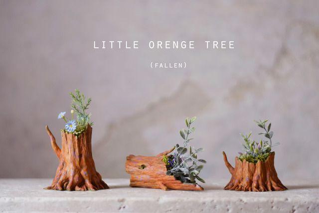 Little orenge tree (fallen) アーティフィシャルフラワー