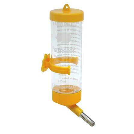 Bebedouro para Hamster Drinker Amarelo Chalesco - MeuAmigoPet