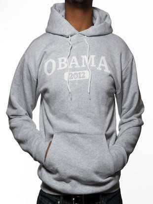 Obama Hoodie. Who knew clothes could be so political?